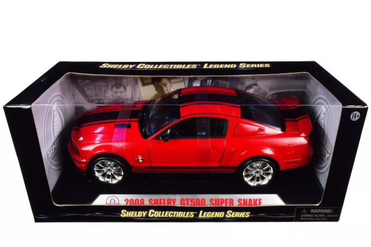 Shelby Collectibles スーパーSALE セール期間限定 1 18 フォード マスタング シェルビー GT 500 Snake ●スーパーSALE● セール期間限定 red 2008 1:18 Ford Mustang レッドShelby スーパースネーク Super