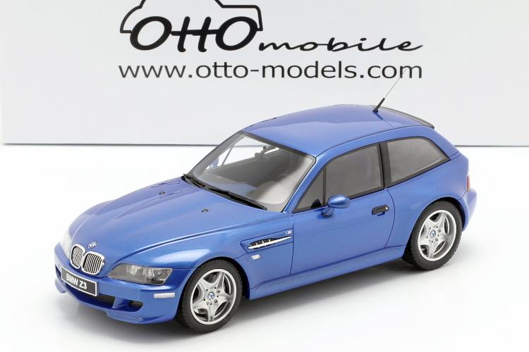 オットーモービル 1/18 BMW Z3 M クーペ 3.2 1999 estoril blue Coupe
