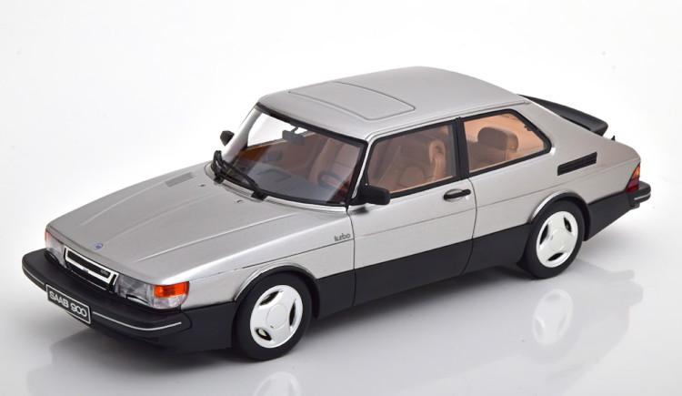 オットー Aero サーブ 1:18 16V Kit Saab 999 silver Edition Turbo pcs 900 Mobile 900 1/18 シルバー Limited Otto 16V ターボ 1984 エアロキット 1984