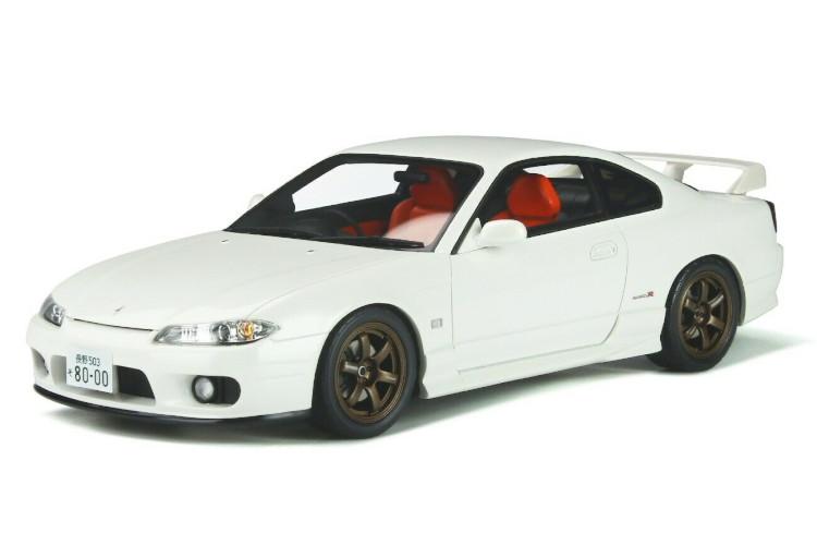 オットーモービル 1 18 ギフ_包装 日産 シルビア スペックR エアロ S15 上質 1999 AERO 1:18 ホワイト Otto Silvia Nissan Mobile Spec-R White