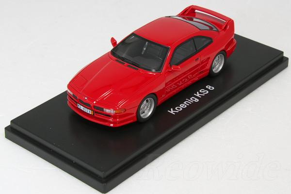 RENN MINITURES 1/43 ケーニッヒ KS8 レッド BMW E31 850