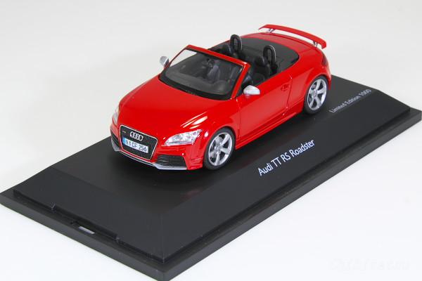 シュコー 1/43 아우디 TT RS 로드스터 ミサノ 레드
