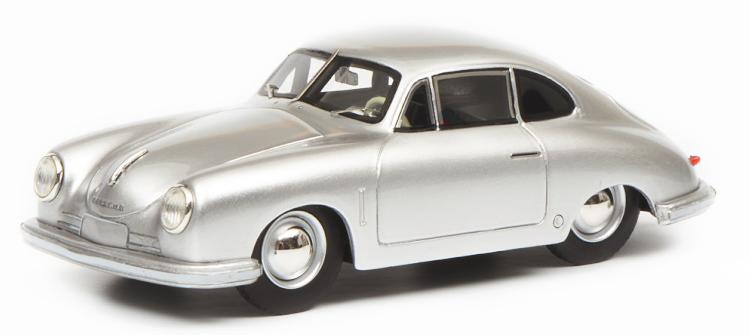 シュコー 1/18 ポルシェ 356 グミュント クーペ シルバー 500台限定 Porsche Gmünd Coupe silver