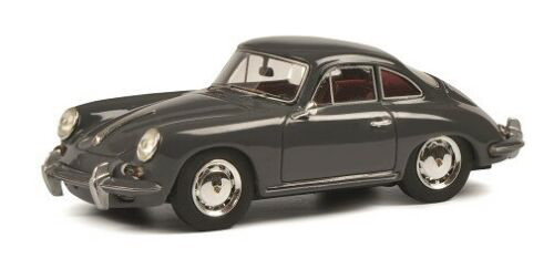 シュコー 1/43 ポルシェ 356 SC クーペ 1961 グレー 500台限定 Schuco 1:43 Porsche 356 SC Coupe 1961 gray Limited Edition 500 pcs.