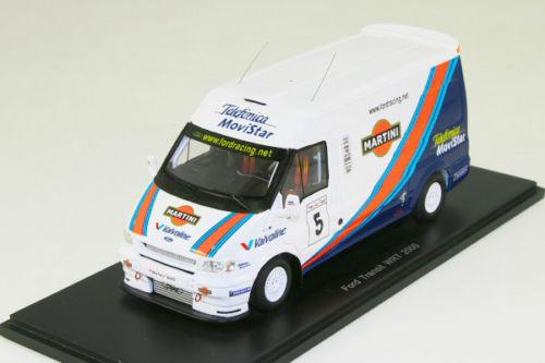 スパーク 1/43 フォード トランジット WRT 2000 マルティーニ