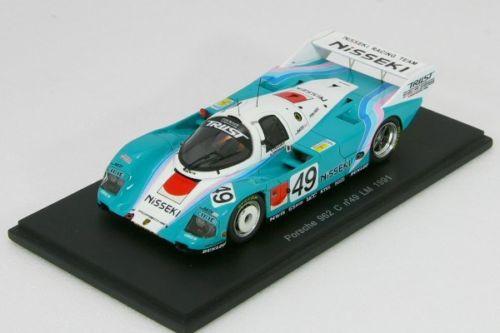 スパーク 1/43 ポルシェ 962C ルマン LM 1991 日石 KB Spark Porsche NISSEKI