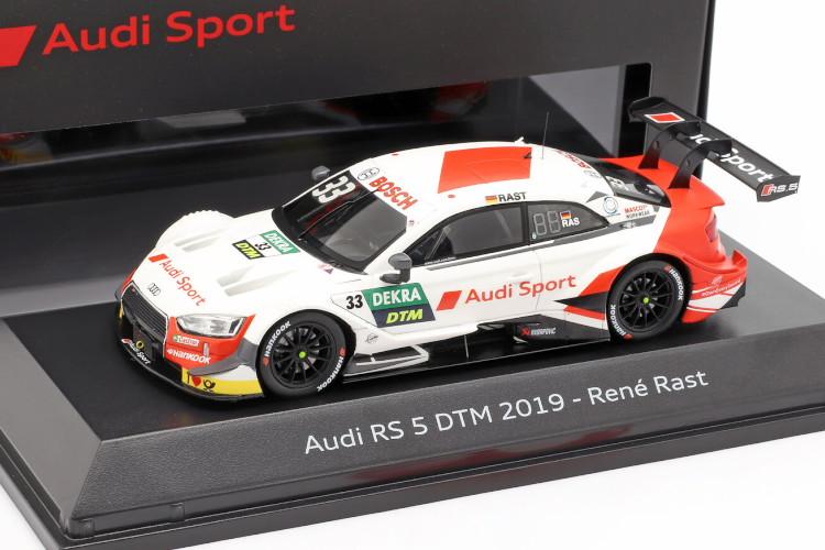 スパーク 1/43 アウディ RS5 #33 DTM チャンピオン 2019 ルネラスト Audi champion Rene Rast