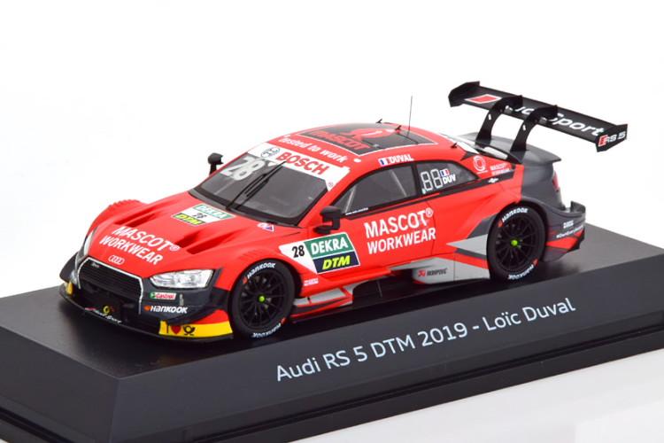 スパーク 1/43 アウディ RS5 #28 DTM 2019 デュバル スーパーGT アウディ Duval special edition of Audi
