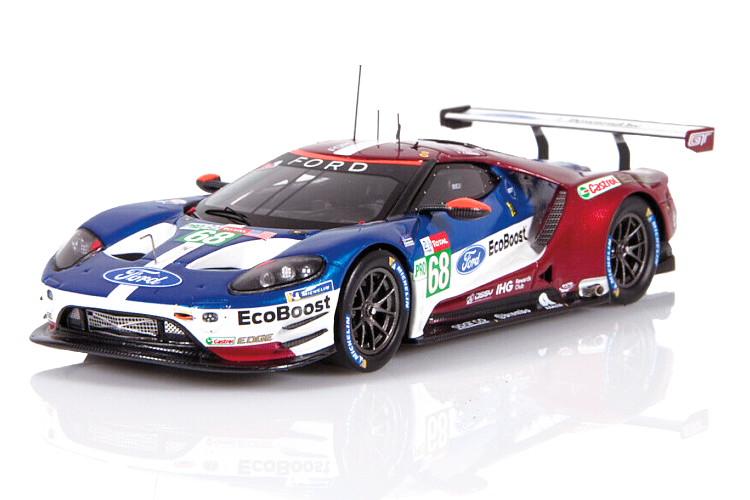 スパーク 1/43 フォード GT LM GTE グナッシ USA ルマン 2018 Ford Chip Ganassi Le Mans Hand/Müller/Bourdais