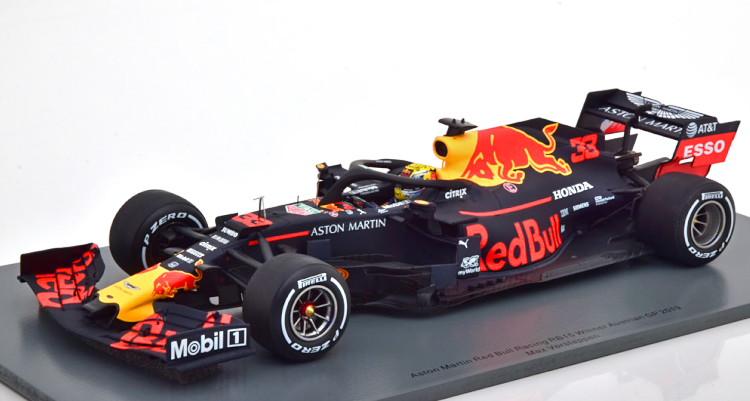 スパーク 流行のアイテム 1 18 レッドブルレーシング RB15 オーストリアGP 2019 優勝車 Bull Racing Red #33 GP Verstappen 格安激安 Austria Winner