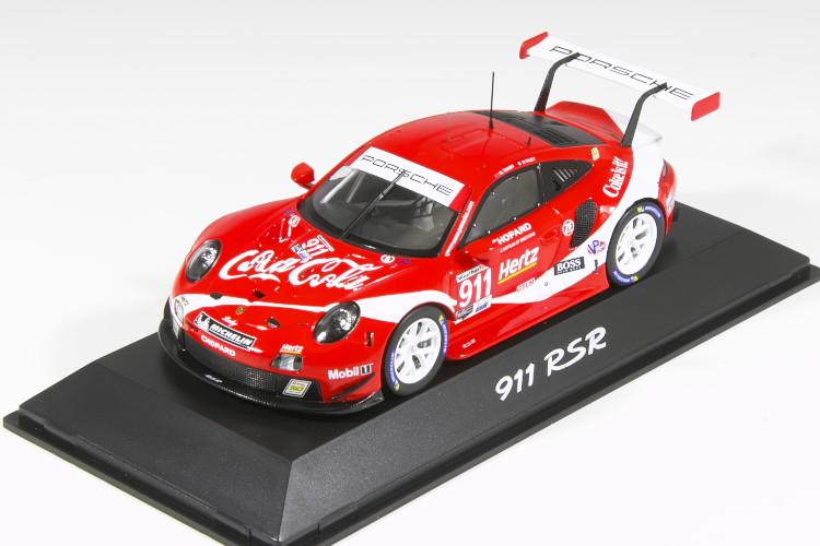 スパーク 1 43 NEW ARRIVAL ポルシェ コカ コーラ 911 RSR IMSA Coca-cola Porsche 2019 Pilet Tandy 開店祝い #911 Makowiecki