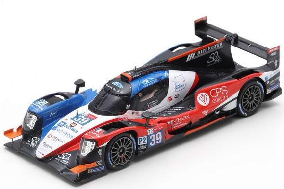 スパーク 1/43 オレカ 07 ギブソン #39 ルマン 2019 Oreca Gibson 24h Le Mans Gommendy/Capillaire/Hirschi