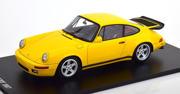 スパーク 1/18 ポルシェ RUF 911 (991) CTR イエローバード 1987 イエロー Spark 1:18 Porsche RUF 911 (991) CTR Yellowbird 1987 yellow