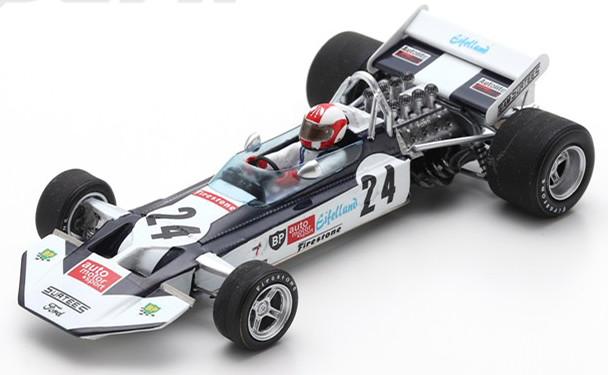 スパーク 1/43 サーティース TS9 イギリスグランプリ 1971 シュトメレン ブラック/ホワイト Spark 1:43 Surtees TS9 GP Great Britain 1971 Stommelen black/white