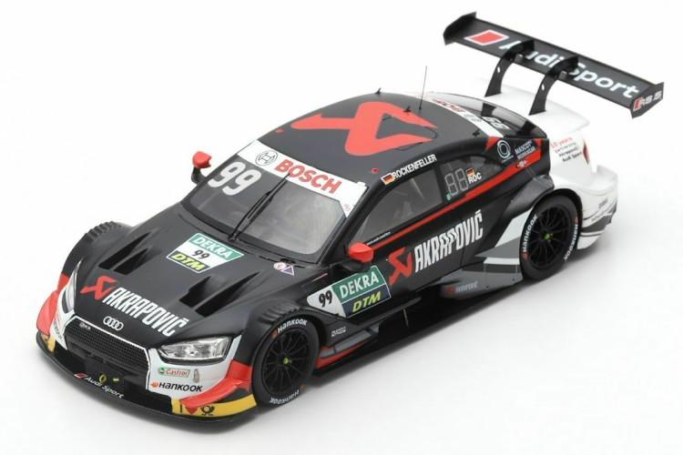 スパーク 1/43 アウディ RS5 99番 DTM 2019 マイク・ロッケンフェラー ブラック 300台限定 Spark 1:43 Audi RS 5 #99 DTM 2019 Mike Rockenfeller black Limited Edition 300 pcs
