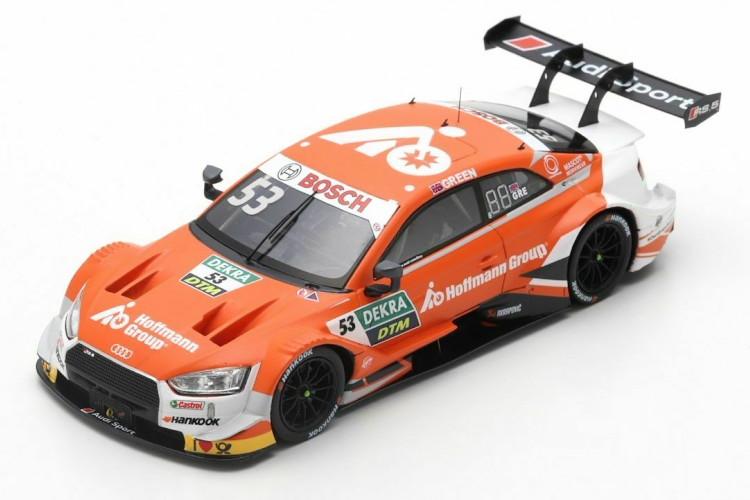 スパーク 1/43 アウディ RS5 53番 DTM 2019 ジェイミー・グリーン オレンジ 300台限定 Spark 1:43 Audi RS 5 #53 DTM 2019 Jamie Green orange Limited Edition 300 pcs