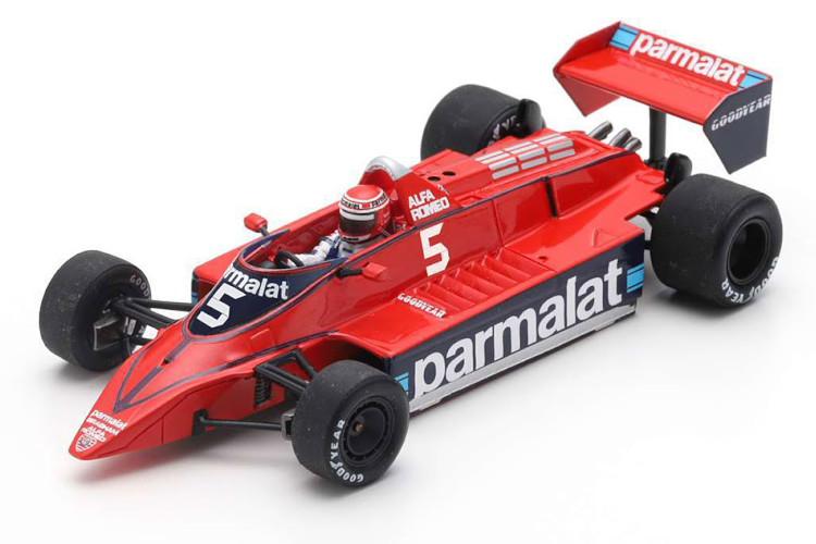 スパーク 1 43 ブラバム BT48 #5 イタリアGP 贈り物 贈呈 1979 ラウダ 1:43 Italy GP Brabham Lauda SPARK red レッド