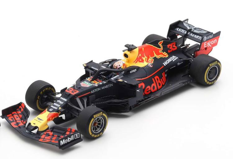 スパーク 1/43 レッドブルレーシング RB15 100th アメリカGP 2019 ピットボード付き フェルスタッペン ブラック Spark 1:43 Red Bull Racing RB15 GP USA 100th GP with Pit Board 2019 Red Bull Verstappen black