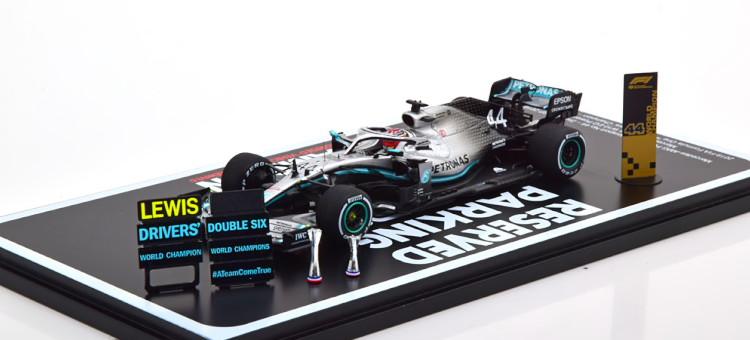 Hamilton W10 World Power+ ブラック/シルバー black/silver Spark AMG アメリカGP メルセデス ハミルトン USA Champion パワー+ 1:43 スパーク EQ Mercedes 2019 2019 GP EQ W10 1/43 世界チャンピオン AMG