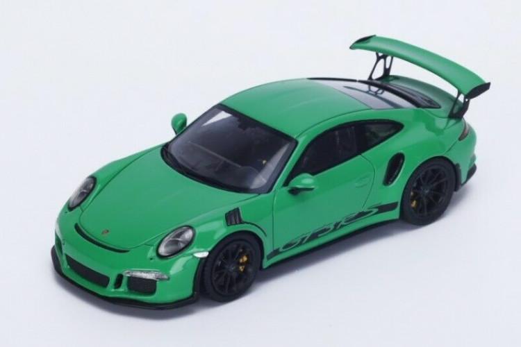 スパーク 1/43 ポルシェ 911 991 GT3 RS 2016 グリーン Spark 1:43 PORSCHE 911 991-2 GT3 RS 2016 GREEN