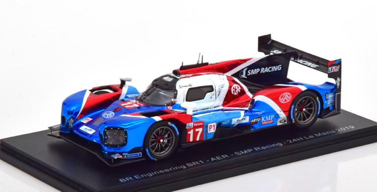 ル・マン24時間耐久レース Le Spark AER BR1 BR 2019 #17 blue/white/red 17 Mans AER Engineering 2019 24h スパーク ブルー/ホワイト/レッド 1:43 No BR1 BRエンジニアリング 1/43