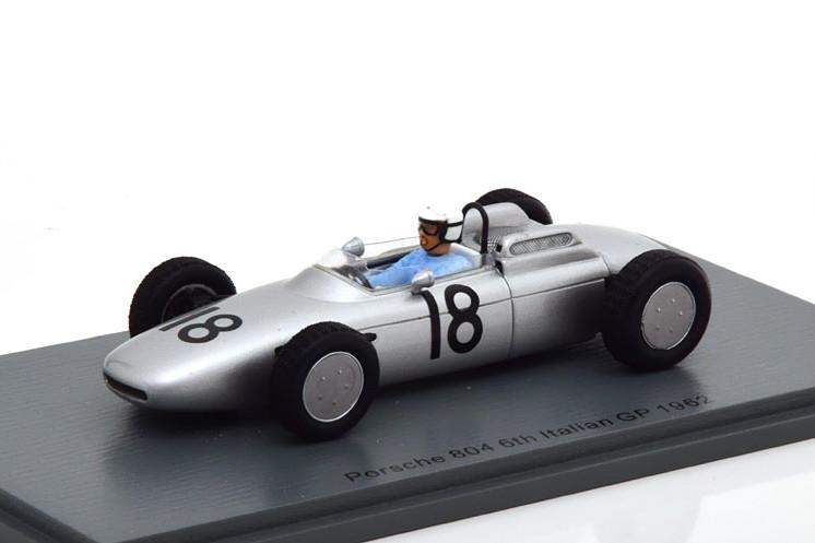 1962 1962 1/43 804 スパーク Porsche Spark ポルシェ 804 Italy GP Bonnier イタリアGP 1:43