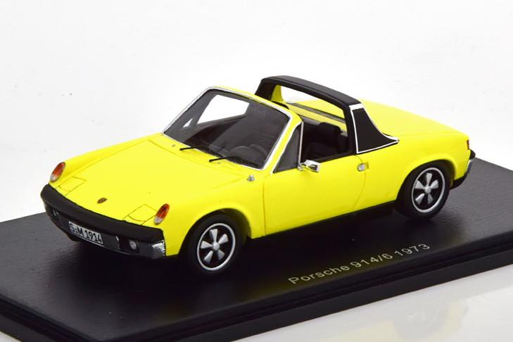 Spark 914/6 1:43 Porsche yellow イエロー ポルシェ スパーク 1973 914/6 1/43 1973