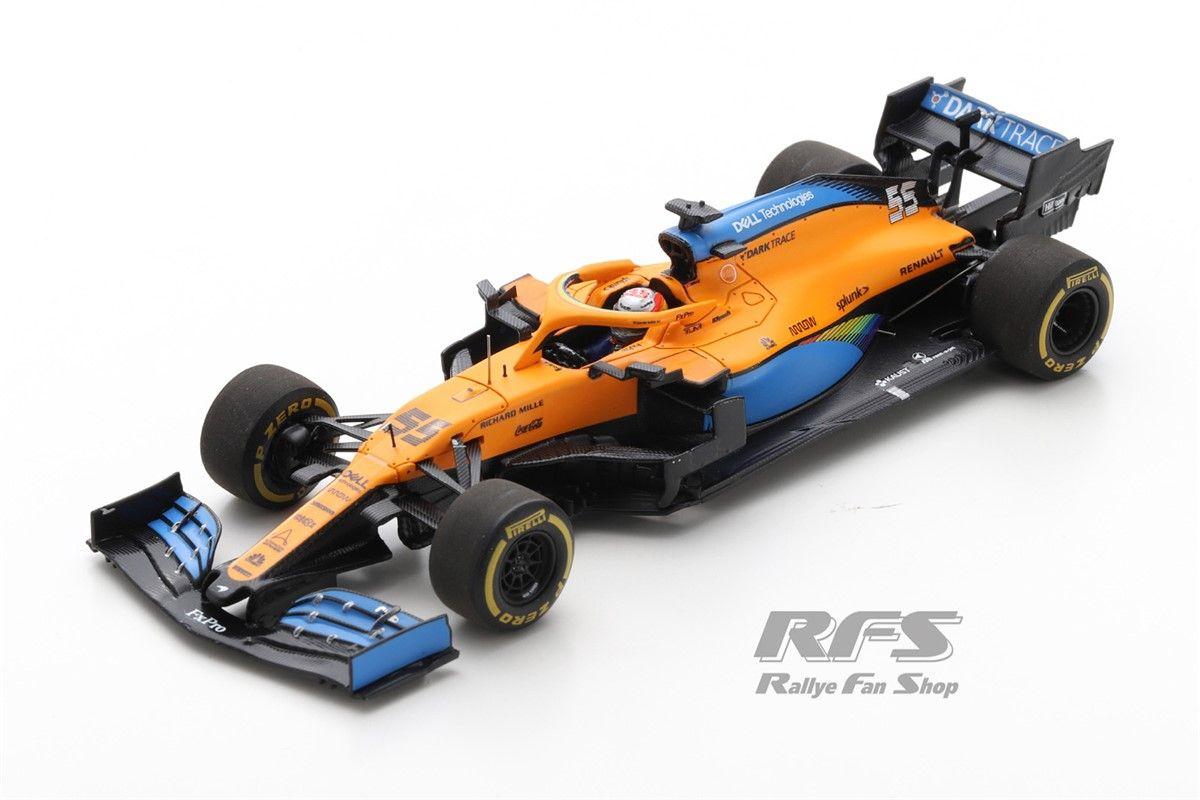 スパーク 1 43 カルロス サインツJr. マクラーレン MCL35 #55 第5 全店販売中 オーストリアGP 5th Sainz Spark 1:43 セットアップ 2020 Carlos GP Austrian McLaren jr.