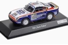 スパーク 1 43 ポルシェ 959 大好評です #186 ダカール ラリー 1985 1986台限定Spark Porsche Paris 格安SALEスタート Metge pcs. 1:43 Limitation 1986 Dakar Lemoyne Rallye