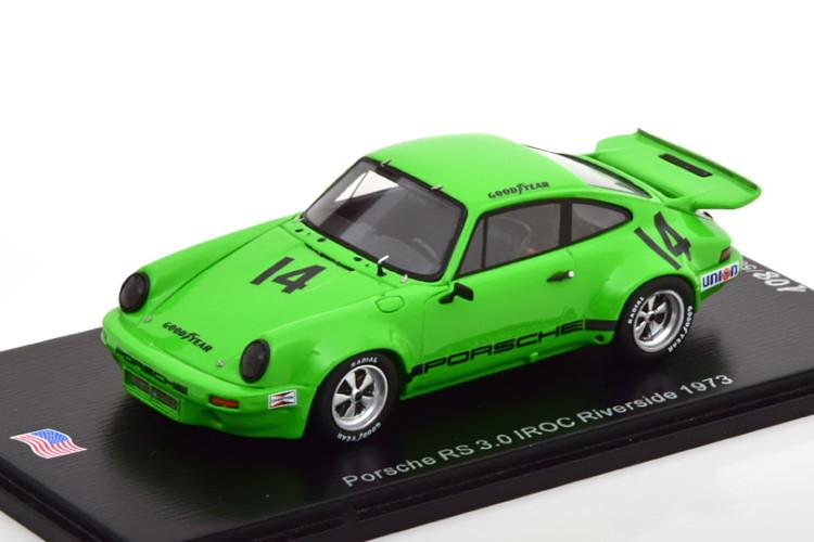スパーク 1 43 ポルシェ 911 RS 3.0 #14 IROC リバーサイド 1973 フィッティパルディ Porsche pcs 驚きの値段で 14 Edition No Limited 500台限定Spark Fittipaldi Riverside 500 1:43 新作製品、世界最高品質人気!