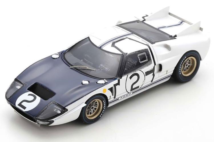 スパーク 1 43 フォード GT40 MK 2 #2 ル マン24時間レース 1965 Le No Ford Hill 24h メーカー在庫限り品 Amon 1:43 市販 Mans エイモンSpark ヒル