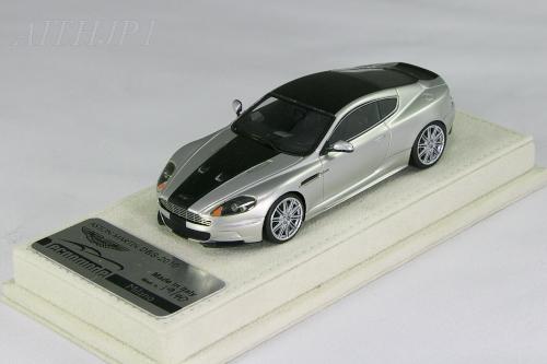 テクノモデル 1/43 アストンマーチン DBS シルバー x ブラックストライプ 40台限定