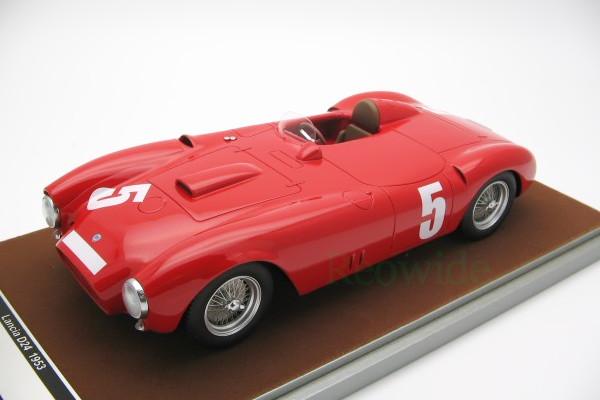 テクノモデル 1 18 ランチア D24 スパイダー 1953 ニュルブルクリンク 100台限定 Tecnomodel 1:18 Lancia メーカー公式 pieces. 贈与 5 100 Limited Nurburgring car Spyder # Edition J.M.Fangio F.Bonetto