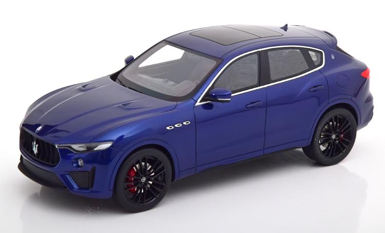 True Scale Miniatures 1/18 マセラティ レヴァンテ メタリックブルー True Scale Miniatures 1:18 Maserati Levante bluemetallic