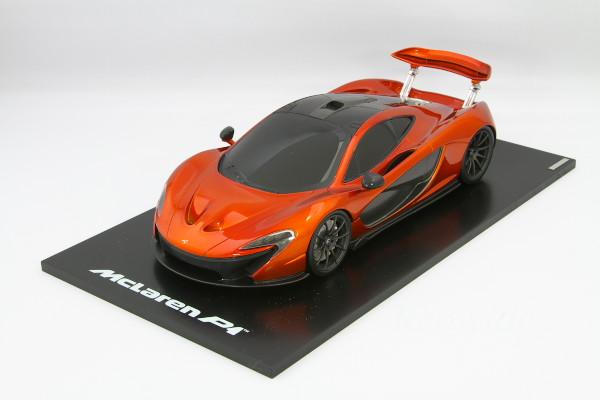 TSM 1/18 マクラーレン P1 オレンジ レーシングバージョン 2012