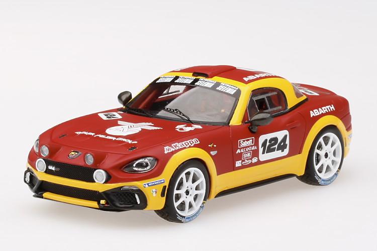 TSM MODEL 1/43 フィアット アバルト 124 スパイダー ラリーコンセプト Abarth 124 Spider Rally Concept マツダ ロードスター ND