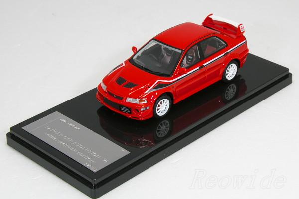 WIT'S 1/43 三菱 ランサーエボリューション 6 トミー・マキネン エディション 2000 レッド W248