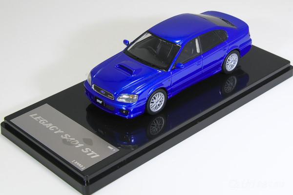 WIT'S 1/43 スバル レガシィ S401 STI WRブルー B4