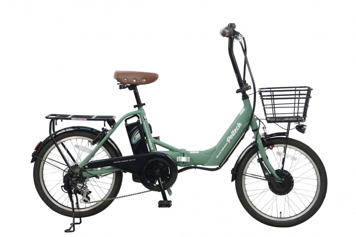 電動アシスト 自転車 アルミ 本物 20インチ 折りたたみ 電動自転車 PELTECH 6段変速 TDN-212L 外装 直送商品 シマノ ペルテック