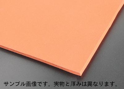 シリコンゴムスポンジシート 35°赤(レンガ色)  厚さ 3mm×1000mm×1000mm  シリコンスポンジ板