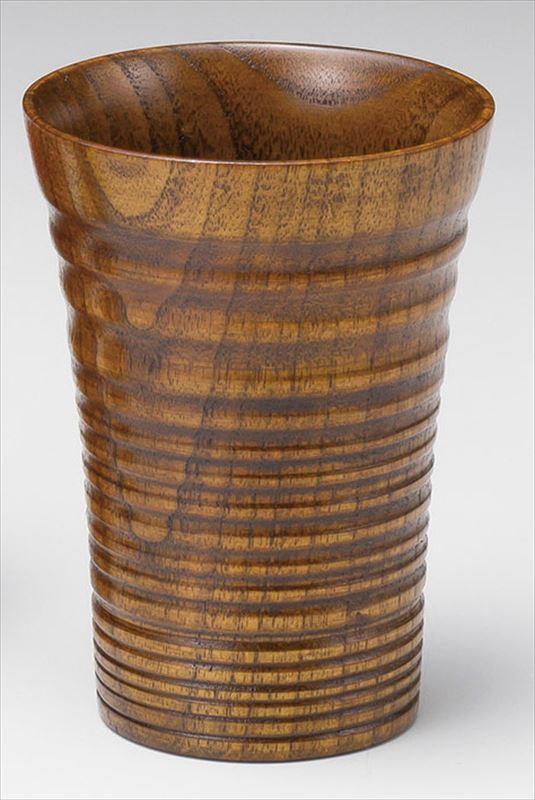 スリ 安値 ろくろ筋 カップ 小 漆 天然木 中国産品 実寸:φ8×8cm 20-73-13 段ボール入 お買い得 A