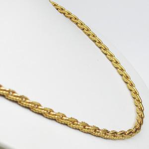 大特価・代引不可【K18】ゴールド デザインネックレス【楽ギフ_包装選択】