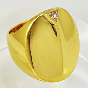 半額■トレベール TRES BELLE★K18 ゴールド【ダイヤモンド】デザインリング [代引不可]【楽ギフ_包装選択】