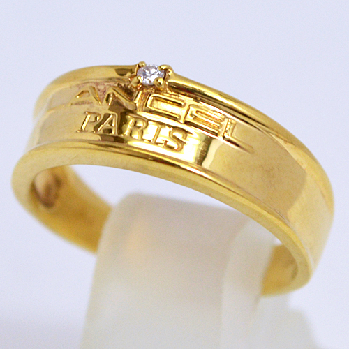 LANCEL[ランセル]■K18ゴールド【ダイヤモンド デザインリング】F0058 [代引不可]【楽ギフ_包装選択】