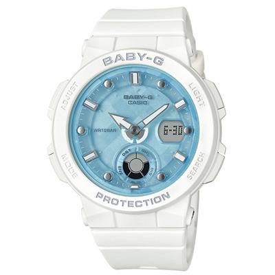 ■CASIO[カシオ] Baby-G【Beach Traveler Series[ビーチ・トラベラー・シリーズ]】ホワイト BGA-250-7A1JF [代引不可]【楽ギフ_包装選択】