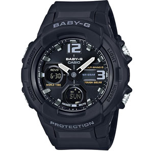 ■CASIO[カシオ]【Baby-G】ブラック 電波ソーラー BGA-2300B-1BJF【楽ギフ_包装選択】
