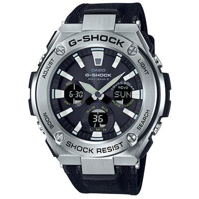 ■CASIO カシオ G-SHOCK【G-STEEL[ジー・スチール]】ソーラー電波 メタル GST-W130C-1AJF [代引不可]【楽ギフ_包装選択】.