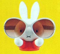 即納! ★キャラクター【ミッフィー】めがねスタンド091952 [後払不可]【楽ギフ_包装選択】パール