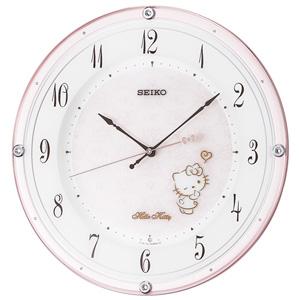 ■SEIKO[セイコー] 【ハローキティ ハイラインシリーズ】 電波掛時計 CS501P  [代引不可]【楽ギフ_包装選択】