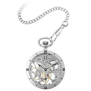 ■アルカフトゥーラ【ARCA FUTURA】フルスケルトン 懐中時計 手巻き 5074ATSSK [代引不可]【楽ギフ_包装選択】